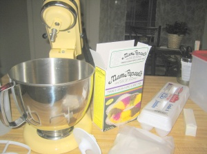 Artisan stand mixer Depaul King Cake mix